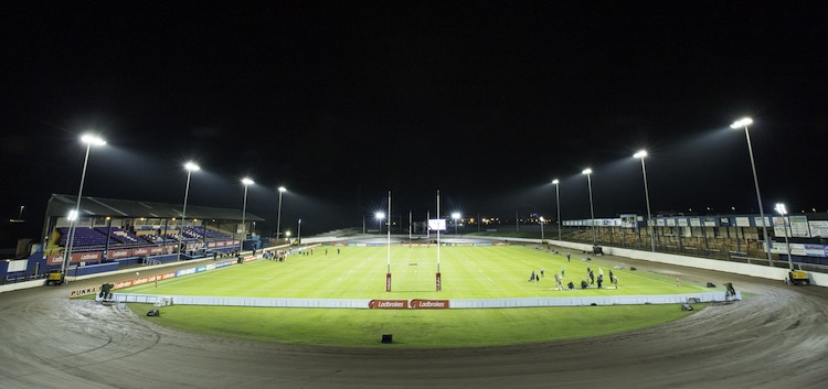 Derwent Park, Workington Rugby League's stadium