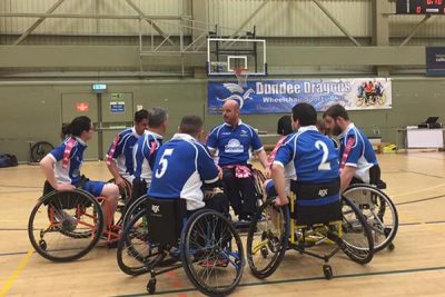 Dundee Dragons Wheelchair Sports Club