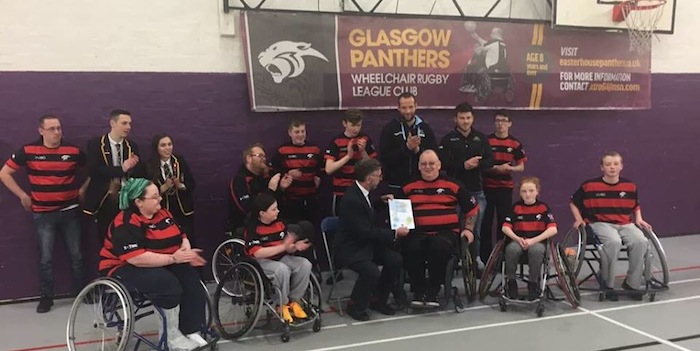 Glasgow Panthers Wheelchair Rugby League Club