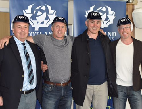 TAIT AND TEAM-MATES RECEIVE BRAVEHEARTS CAPS – AT LAST