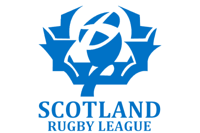 Blue Scotland Rugby League Logo
