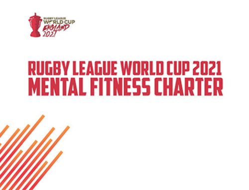 RUGBY LEAGUE WORLD CUP 2021 LAUNCHES GROUNDBREAKING MENTAL FITNESS CHARTER
